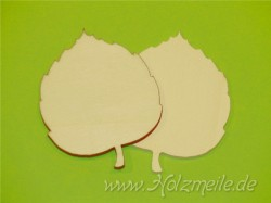 Blatt Linde aus Holz
