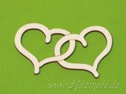 """Holz-Herz Jennifer """"Loving Hearts"""""""