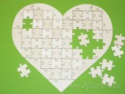 Holz-Puzzleherz 51 Teile