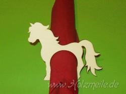 Holz-Serviettenring Pferd Sandro