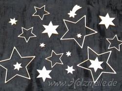 Streuteile Sternenzauber aus Holz