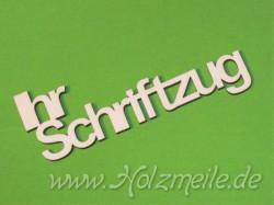 """Ihr Individueller Holz-Schriftzug """"Athen"""""""