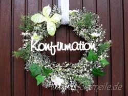 """Holz-Schriftzug """"Konfirmation"""""""